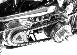 4-Speed Primary Chain Drive